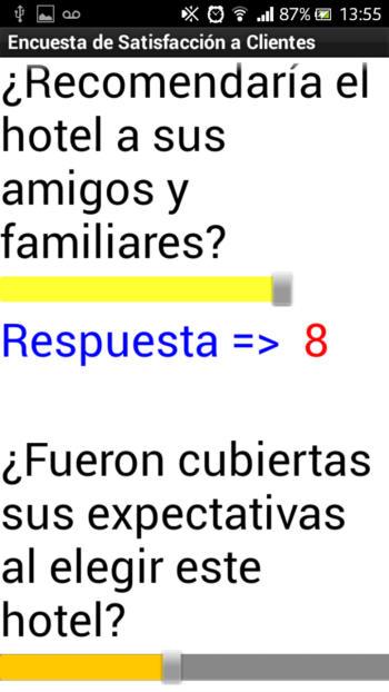 Escuestas de Satisfaccion de Servicios 2